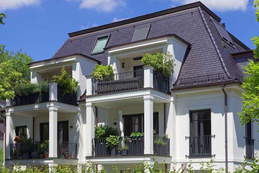 Neubau von 3 Mehrfamilienhäusern