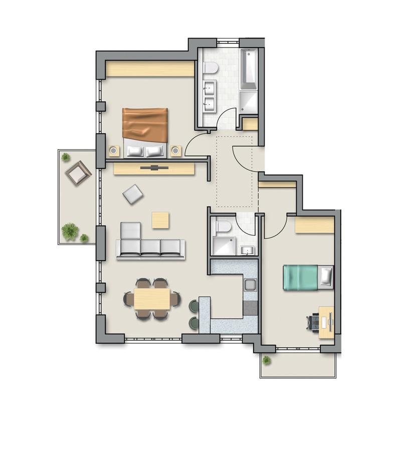 OG Wohnung 8